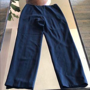 Chanel Navy Blue high waist trouser 40